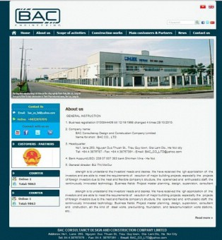 Thiết kế website bacgroup